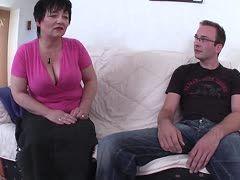 Inzestsex zwischen deutscher Mutter und ihrem Sohn